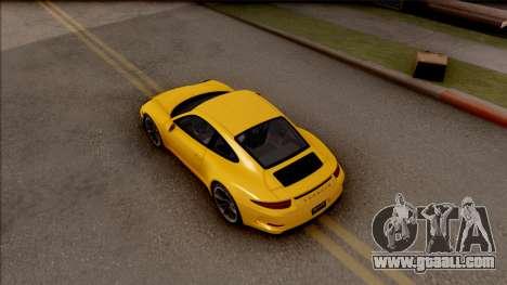 Porsche 911 R for GTA San Andreas back view