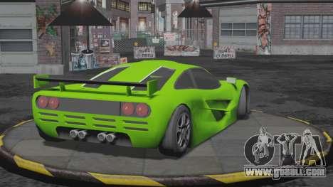 Progen GP1 SA Style for GTA San Andreas left view