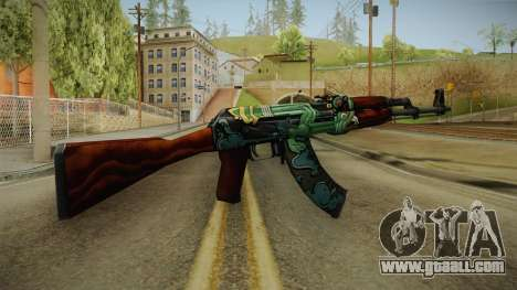 CS: GO AK-47 Fire Serpent Skin for GTA San Andreas second screenshot