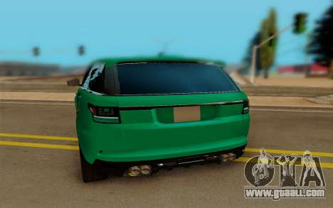 Range Rover SVR for GTA San Andreas right view