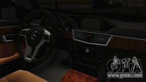 Mercedes-Benz E250 Noyan for GTA San Andreas inner view