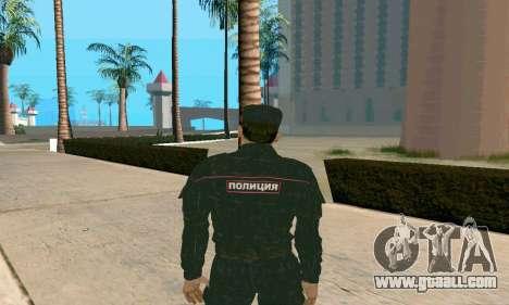Senior Police Sergeant v.1 for GTA San Andreas second screenshot