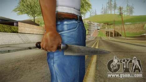 Silent Hill Downpour - Knife SH DP v1 for GTA San Andreas third screenshot
