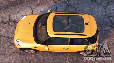GTA 5 Mini Cooper S (F56) 2015 [add-on] back view