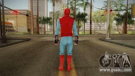 Marvel Heroes Omega - Homemade Suit v1 for GTA San Andreas third screenshot