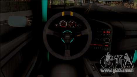 BMW M3 E36 Drift v2 for GTA San Andreas inner view