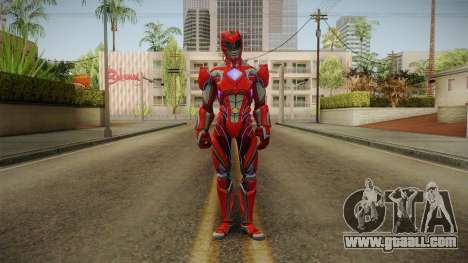 Red Ranger Skin for GTA San Andreas second screenshot