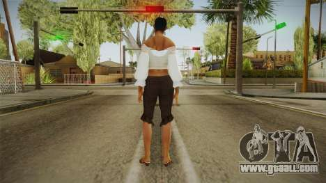 Zantanna Skin v1 for GTA San Andreas third screenshot