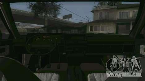 VAZ 21099 Aggressive for GTA San Andreas right view