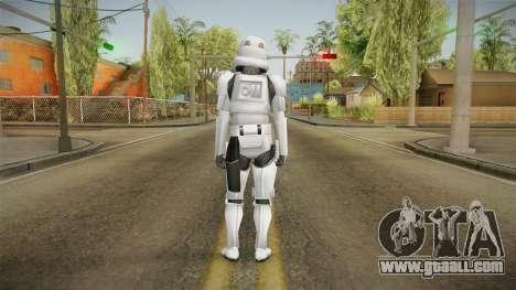 Star Wars - Stormtrooper for GTA San Andreas third screenshot