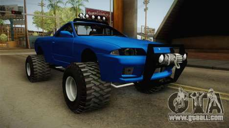 Nissan Skyline R32 Pickup Off Road for GTA San Andreas