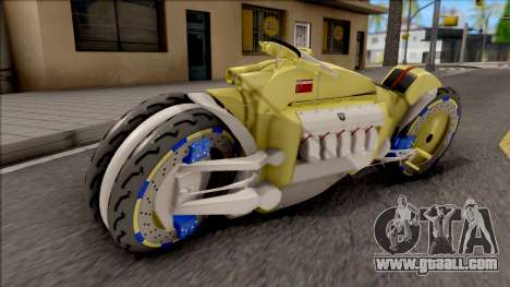 Dodge Tomahawk Gold for GTA San Andreas