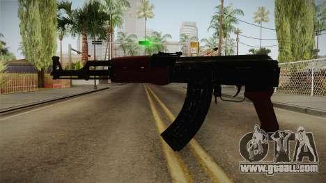 AK-47 Sin Culata HD for GTA San Andreas second screenshot