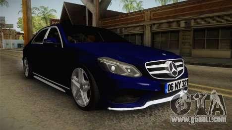 Mercedes-Benz E250 Noyan for GTA San Andreas right view