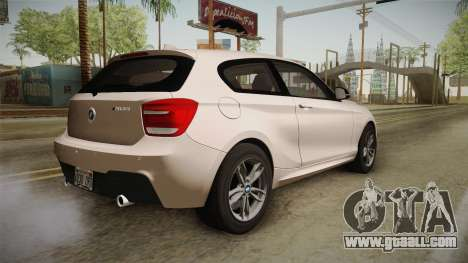 BMW M135i 2013 for GTA San Andreas left view