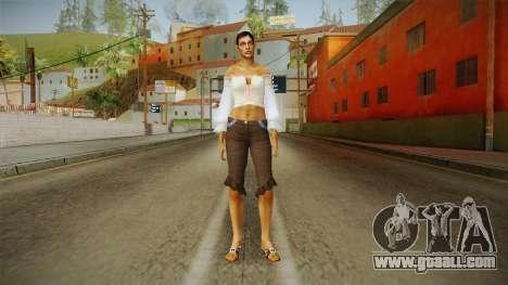 Zantanna Skin v1 for GTA San Andreas second screenshot