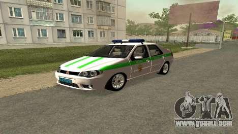 Fiat Albea FSIN for GTA San Andreas