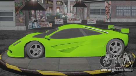 Progen GP1 SA Style for GTA San Andreas back left view