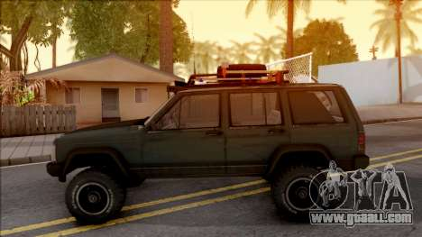 Jeep Cherokee 1984 Off-Road for GTA San Andreas left view