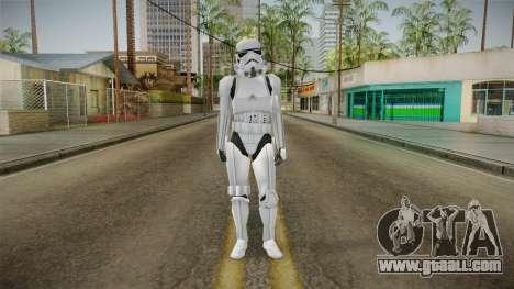 Star Wars - Stormtrooper for GTA San Andreas second screenshot