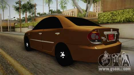 Toyota Camry 2006 for GTA San Andreas back left view
