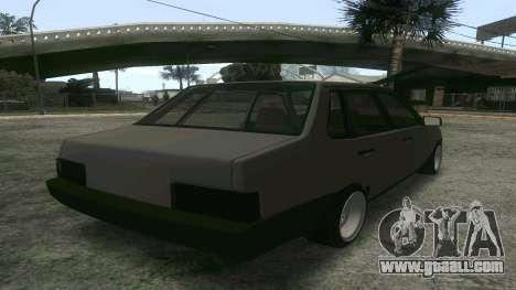 VAZ 21099 Aggressive for GTA San Andreas left view