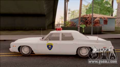 Dodge Monaco Montana Highway Patrol v2 for GTA San Andreas left view