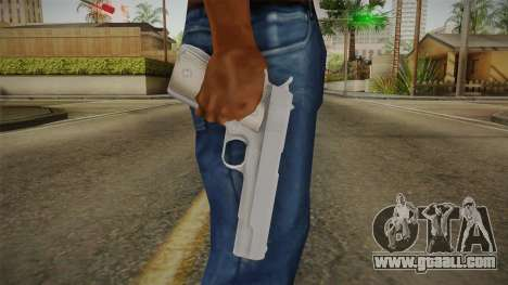 Mirror Edge Colt M1911 v2 for GTA San Andreas third screenshot