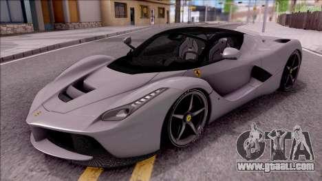Ferrari LaFerrari v2 for GTA San Andreas