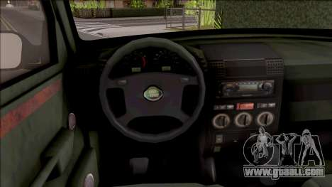 Land Rover Discovery for GTA San Andreas inner view