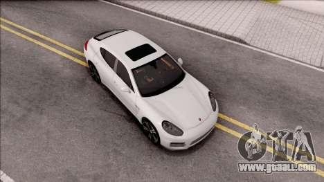 Porsche Panamera GTS for GTA San Andreas