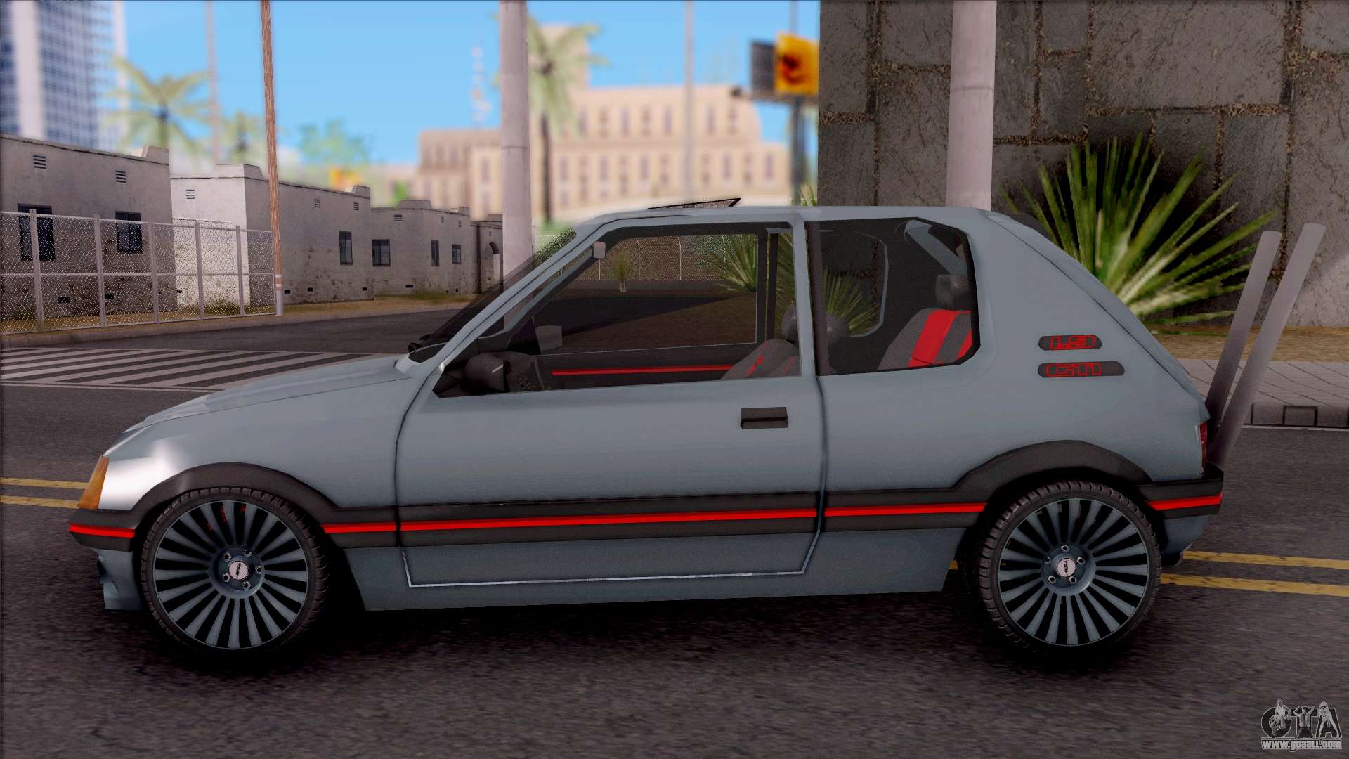 peugeot 205 gti for gta san andreas. Black Bedroom Furniture Sets. Home Design Ideas