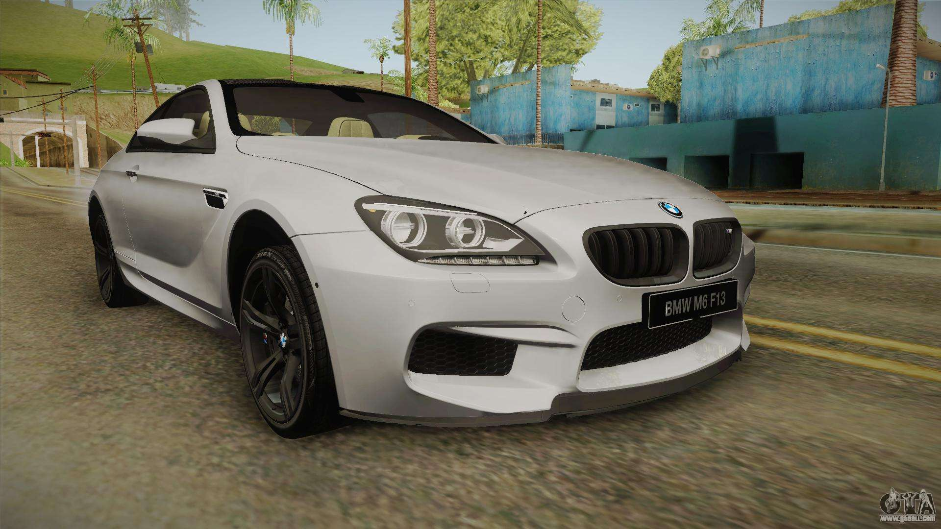 bmw m6 coupe f13 for gta san andreas. Black Bedroom Furniture Sets. Home Design Ideas
