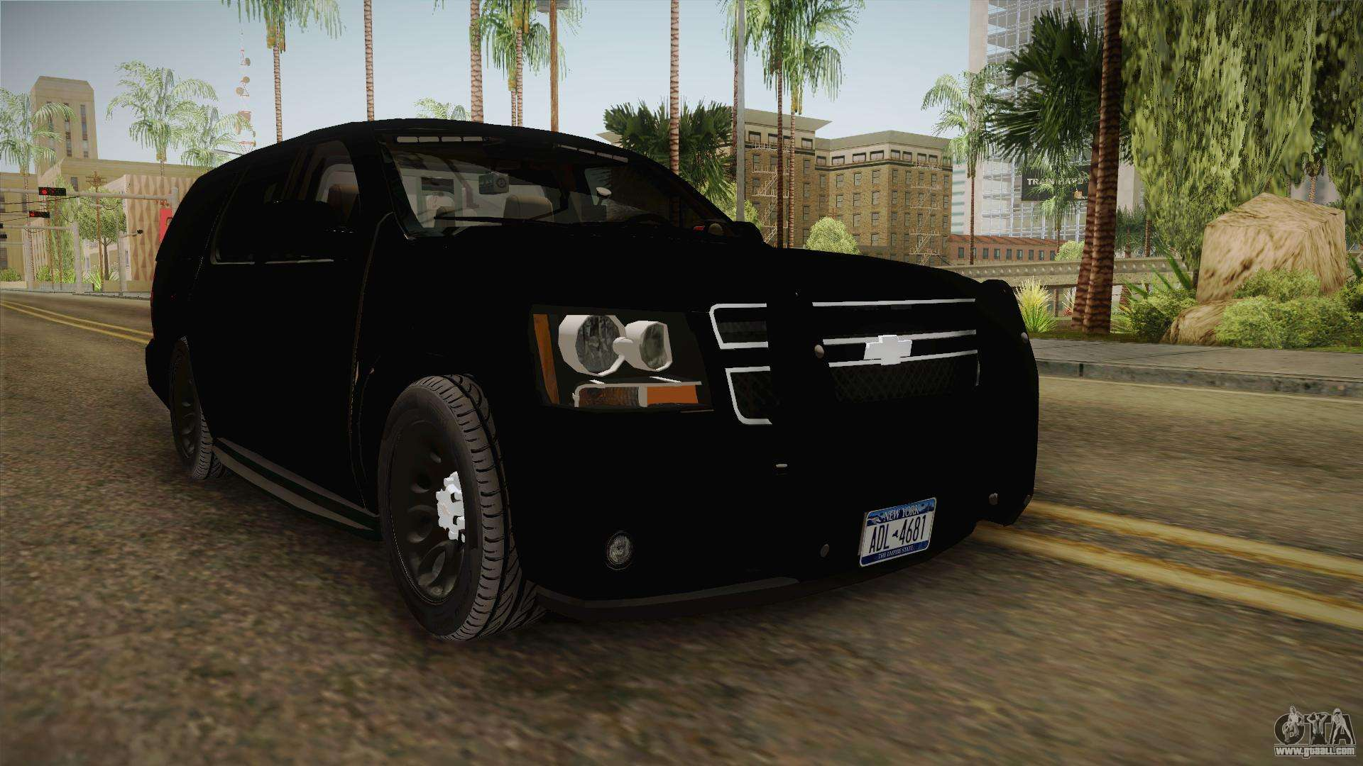 Chevrolet Tahoe 2013 Police for GTA San Andreas