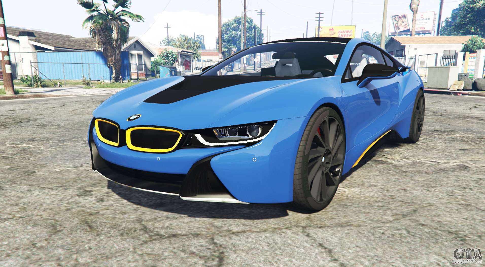 Bmw I8 I12 2015 Add On For Gta 5