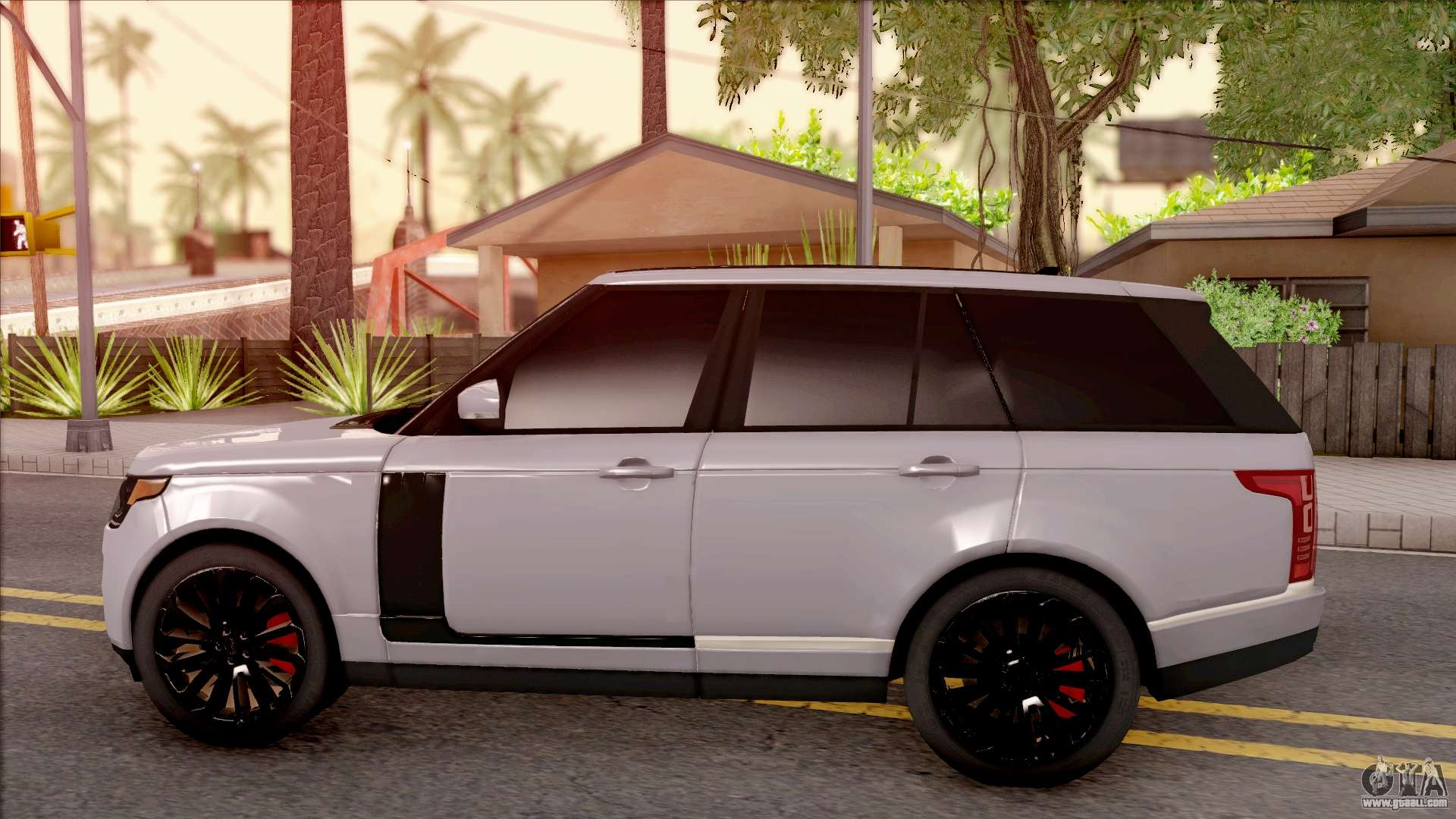 range rover vogue sport 2017 for gta san andreas. Black Bedroom Furniture Sets. Home Design Ideas