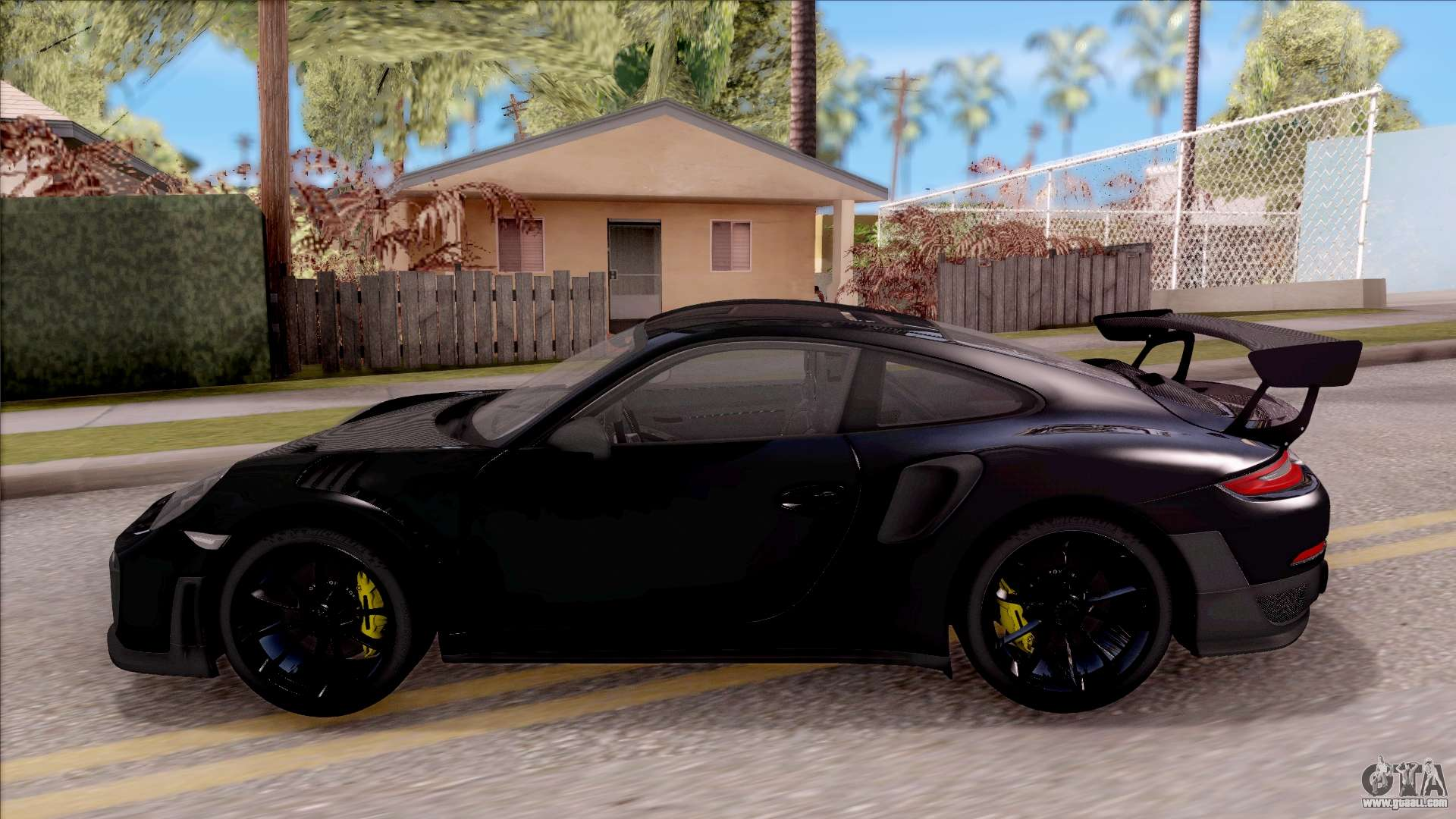 porsche 911 gt2 rs 2017 sa plate for gta san andreas. Black Bedroom Furniture Sets. Home Design Ideas