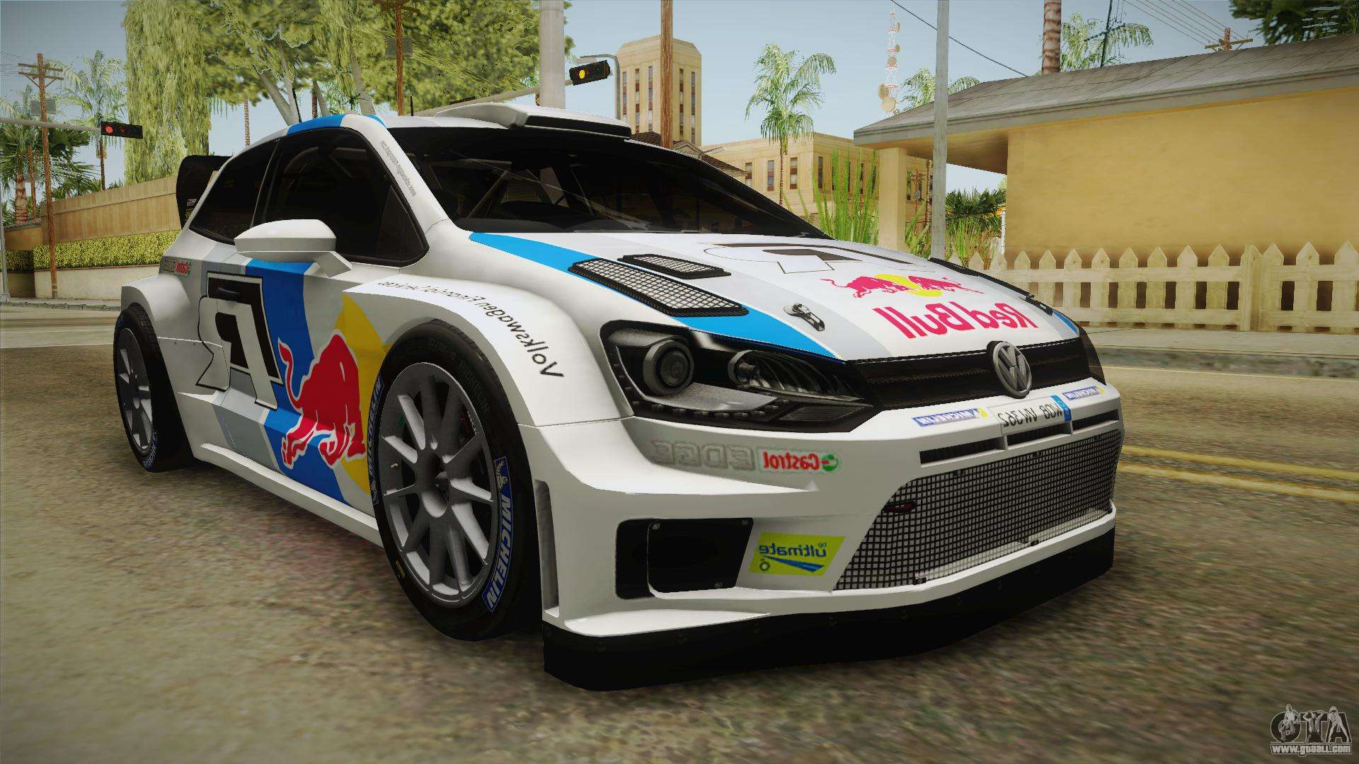 volkswagen polo r wrc for gta san andreas. Black Bedroom Furniture Sets. Home Design Ideas
