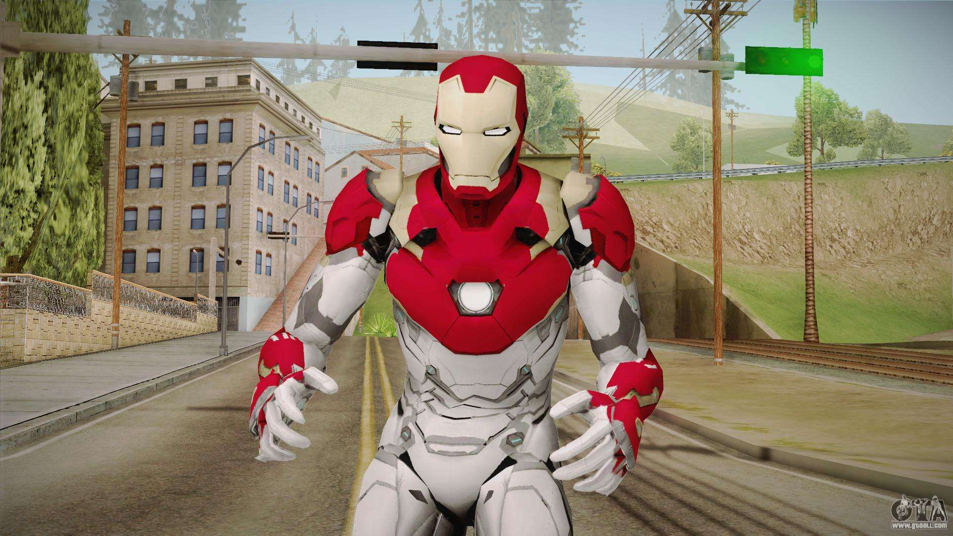 Skins Pack - Iron man 3 for GTA San Andreas