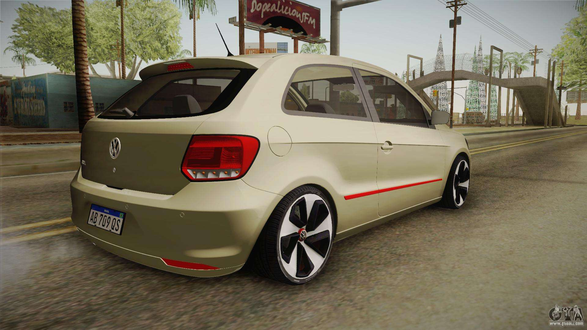 volkswagen golf vii gti for gta san andreas. Black Bedroom Furniture Sets. Home Design Ideas