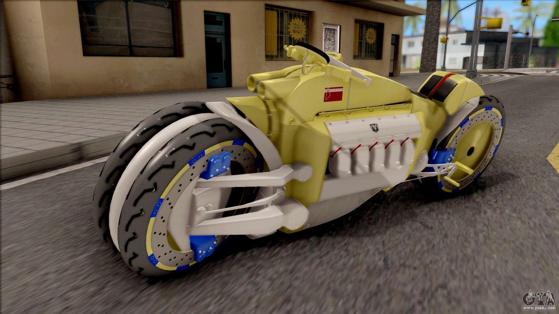 Dodge Tomahawk motorcycle mods - GTA San Andreas on