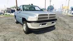 Dodge Ram 1500 1999 [add-on] for GTA 5