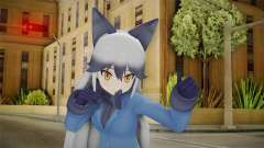 Kemono Friends Silver Fox 02 for GTA San Andreas