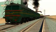 Freight Locomotive 2M62 1184 Masha for GTA San Andreas