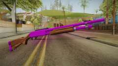 Purple Shotgun for GTA San Andreas