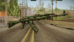 CS: GO AK-47 Jungle Spray Skin for GTA San Andreas
