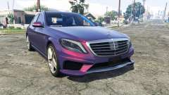 Mercedes-Benz S63 red brake caliper [replace] for GTA 5