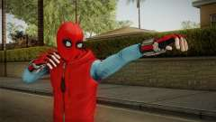 Marvel Heroes Omega - Homemade Suit v1 for GTA San Andreas