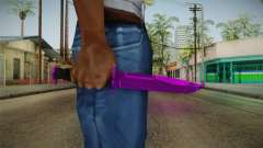 Purple Knife for GTA San Andreas