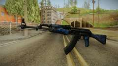 CS: GO AK-47 Blue Laminate Skin for GTA San Andreas